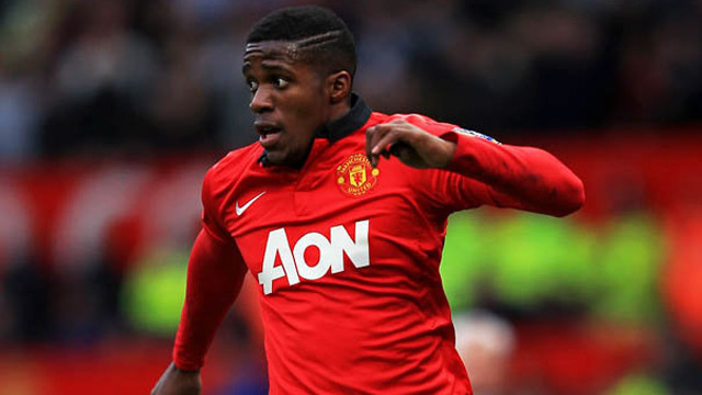 Wilfried Zaha Man Utd