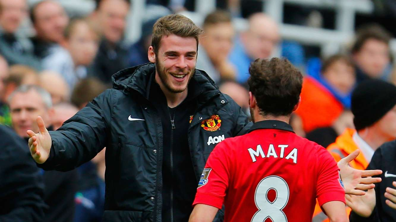 De Gea and Mata