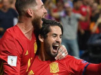 Ramos and Isco