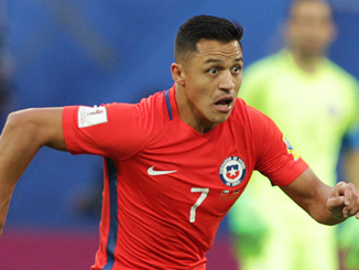 Alexis Sanchez Man United Chile
