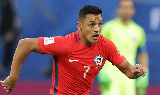 Alexis Sanchez Man United Chile