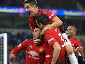 Man United team