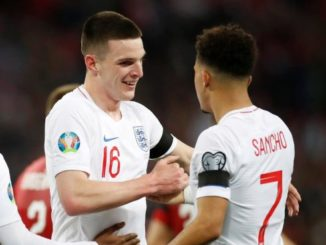 Rice and Sancho for England