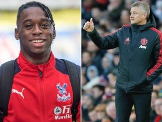 Aaron Wan-Bissaka Crystal Palace and Solskjaer