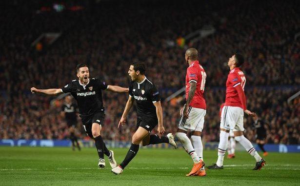 Wissam Ben Yedder Sevilla Man United