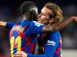 Dembele and Griezmann Barcelona