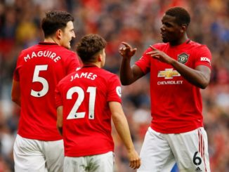 James Pogba and Maguire