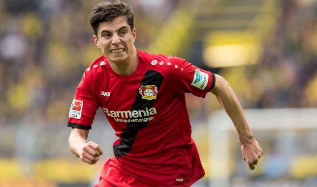 Kai Havertz Bayer Leverkusen