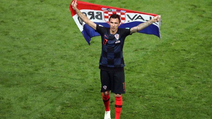 Mario Mandzukic Croatia