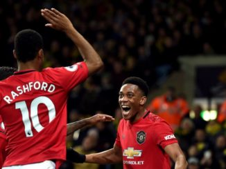 Martial and Rashford MUFC
