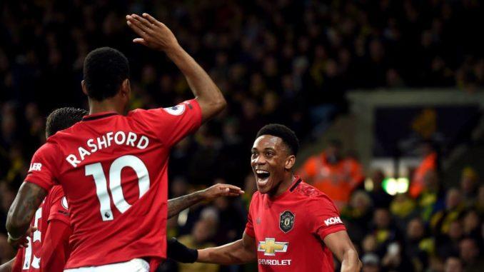 Martial and Rashford MUFC