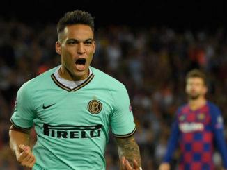 Inter Milan Lautaro Martinez vs Barcelona