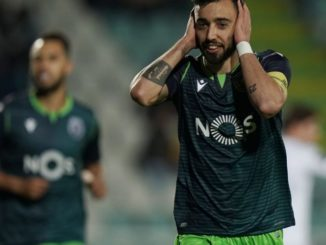 Bruno Fernandes Sporting CP celebration