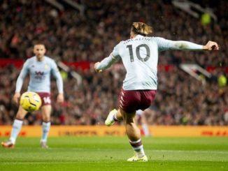 Jack Grealish goal vs Man Utd
