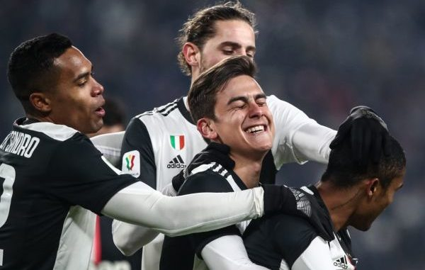Juventus Dybala Rabiot Sandro Costa