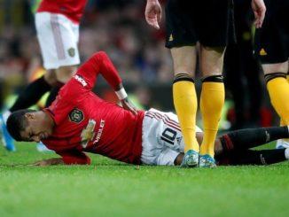Rashford-Injured