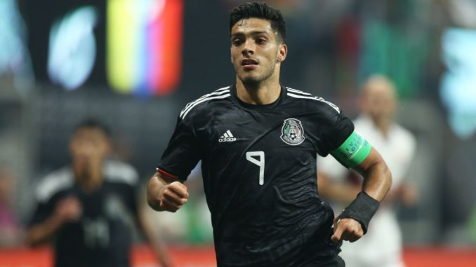 Raul Jimenez Mexico and Wolves striker