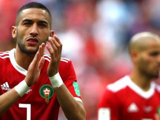 Hakim Ziyech Morroco and Ajax playmaker