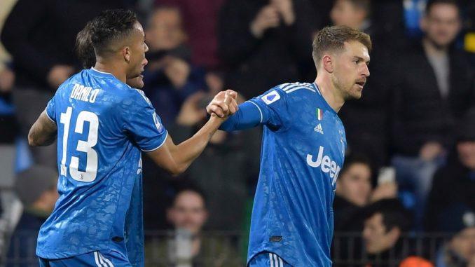 Juventus' Aaron Ramsey vs SPAL