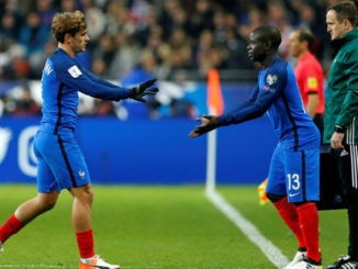 N'Golo Kante and Griezmann