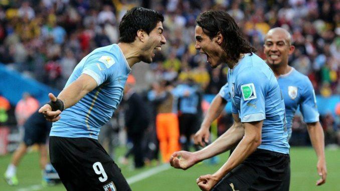 Cavani and Suarez Uruguay