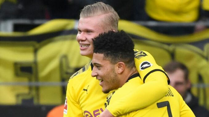 Haaland Sancho Dortmund