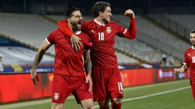 Dusan Vlahovic Serbia Striker