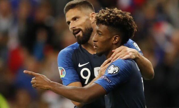 Coman and Giroud France