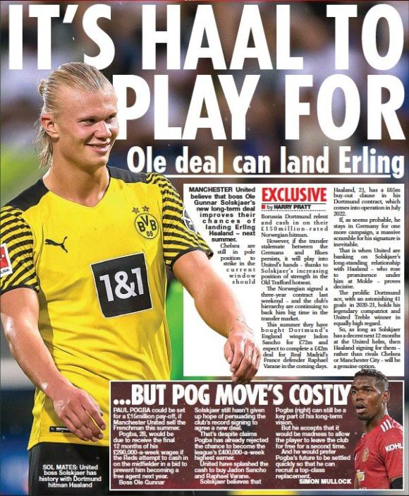 Haaland to Man Utd - 2022