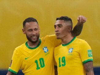 Raphinha Brazil Neymar